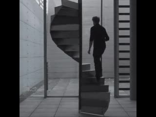 Spinning spiral staircase by carlo kurth