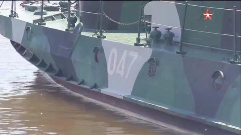 Корабли Каспийской флотилии задействуют в «антипиратских» учениях