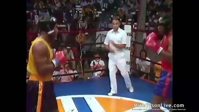 Любительский бой Майк Тайсон против Уинстона Бента. Empire state games (1983)