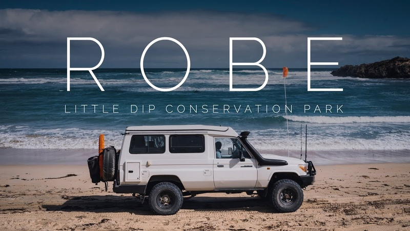 ROBE LITTLE DIP NATIONAL PARK | Beach Offroad Camping Trip - Troopy Travel