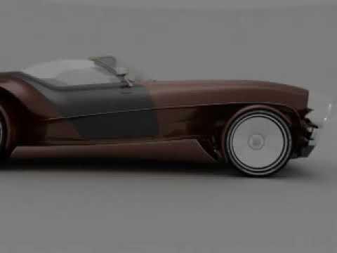 Muscle Car GARUDA VIRGO дипломный проект