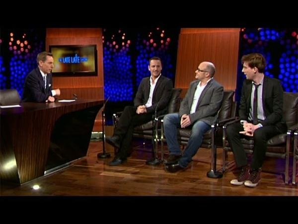 How singing got Fassbender the Frank gig   The Late Late Show