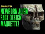 The studioADI Collection - Newborn Alien Face Design Maquette