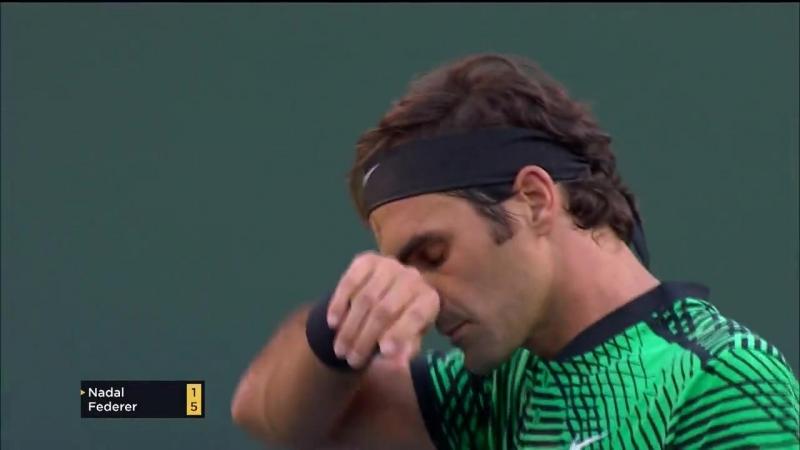 Roger Federer - Rafael Nadal Indian Wells 2017 R4 World Feed Full Match
