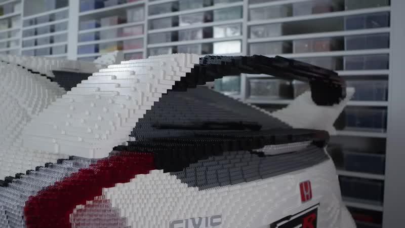 Honda Civic Type R из деталей LEGO