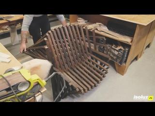 Раскладное кресло своими руками из фанеры _ Кресло-трансформер _ DIY мебель