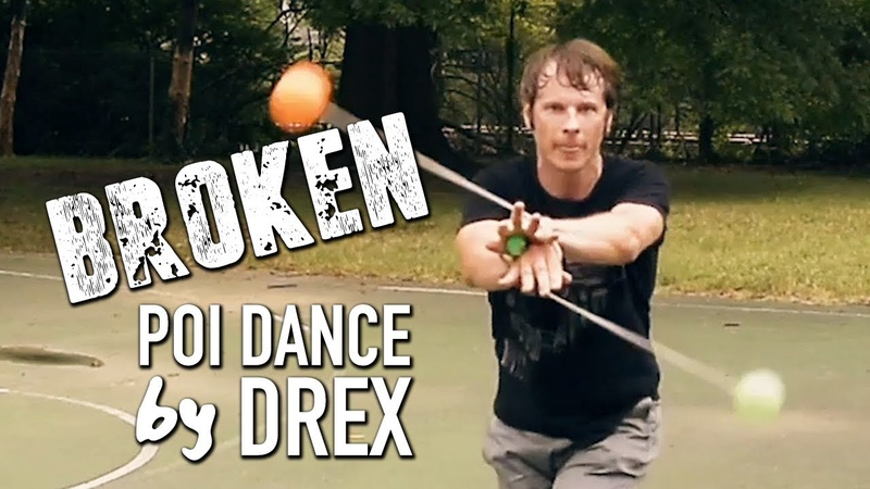 Lovelytheband Broken - Poi Dancing and Flow by Drex
