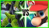 Perfect Cell Vs Mario