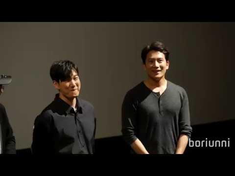 [4K] 180922 지성 조승우 김성균 이원근 영화 '명당' 무대인사 (용산CGV)