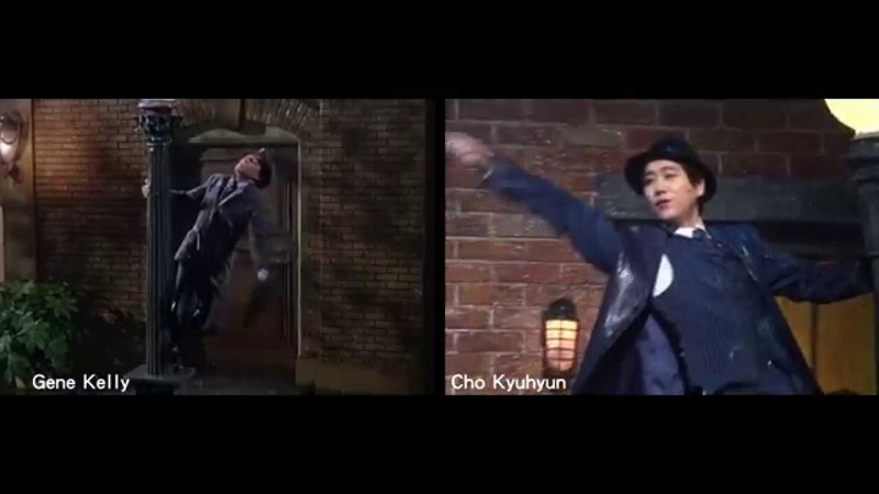 《Singin' in the Rain》Gene Kelly VS Cho Kyuhyun