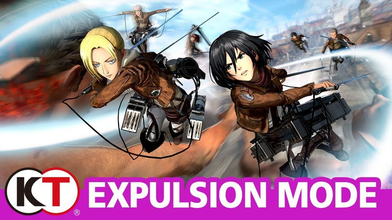 Attack on Titan 2 - Expulsion Mode (Free-For-All mode)