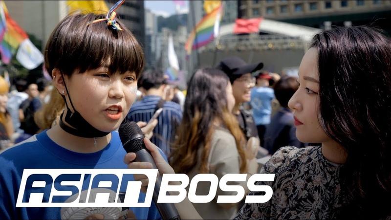 Do Koreans Support LGBTQ Ft Seoul Queer Parade ASIAN BOSS смотреть онлайн без регистрации