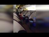 Халит ,Бергюзар и Али в самолете