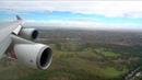 Wild cross-wind Qantas 747-400 ER landing in Melbourne !