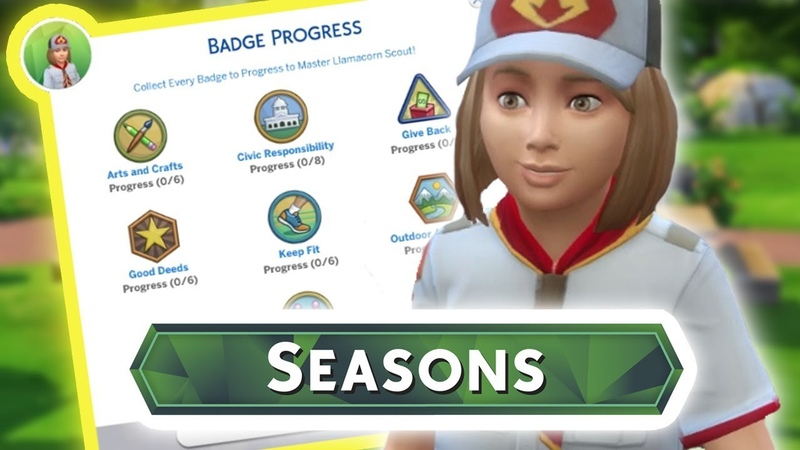 BOY GIRL SCOUTS Gameplay | The Sims 4: SEASONS (How To)