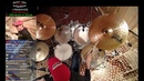 Продвинутая Координация Джаз Свинг на Барабанах | Уроки Ударных По Скайпу Акция Для Новых Учеников