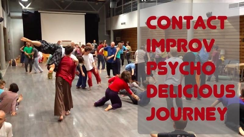 Contact improvisation jam / Контактная Импровизация джем