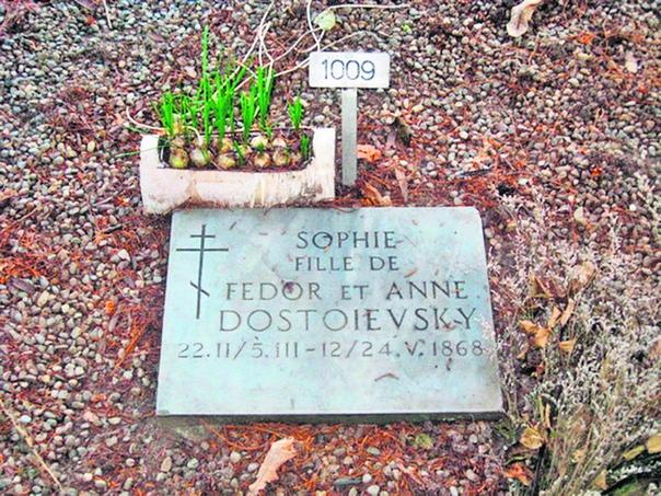 ОНА НАЧИНАЛА МЕНЯ ЗНАТЬ, ЛЮБИТЬ... МАЛЕНЬКАЯ СОНЯ ДОСТОЕВСКАЯ В 1867 году семья Достоевских переехала в Женеву. 22 февраля 1868 г. после долгих мучений Анны Достоевской на свет появилась