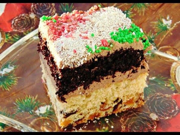 Пляцок з сухофруктами / Торт с сухофруктами / ciasto bakaliowe - рецепти Лілії Цвіт