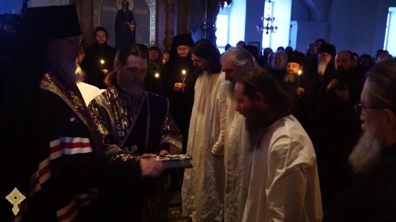 Валаамский монастырь - Монашеский постриг (2018)