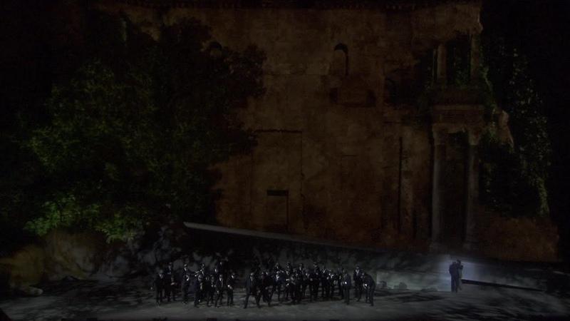 Verdi : Rigoletto (Chorégies d'Orange : Nadine Sierra / Amélie Robbins / Leo Nucci / Alain Guingal)
