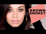 Soft Brown Smokey Eye Makeup Tutorial Valentines Day Makeup Eman