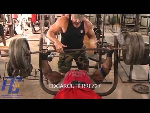Arnold Schwarzenegger - The Rock - Jay Cutler - Ronie Coleman - Phil Heath - Entrenamiento ( Gym)
