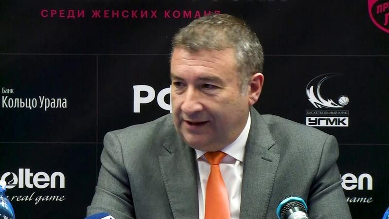 Комментарии Мигеля Мендеса после матча 20.01.19