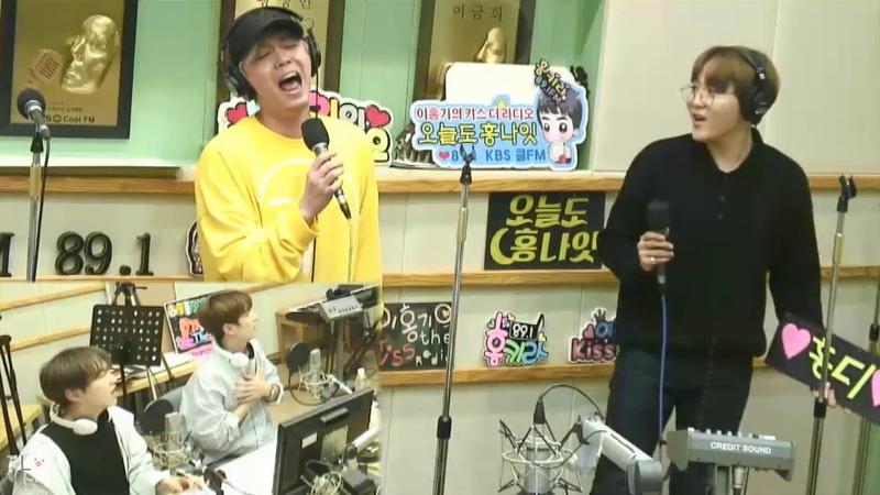 [720p]180330 이홍기 부승관 - Wind Live
