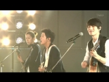 110820 Kpop All Star in Niigata - CNBLUE live - Intuition / Love Girl / Try Again, Smile Again