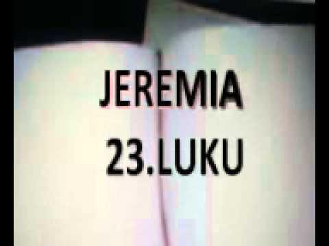 JEREMIAN KIRJA