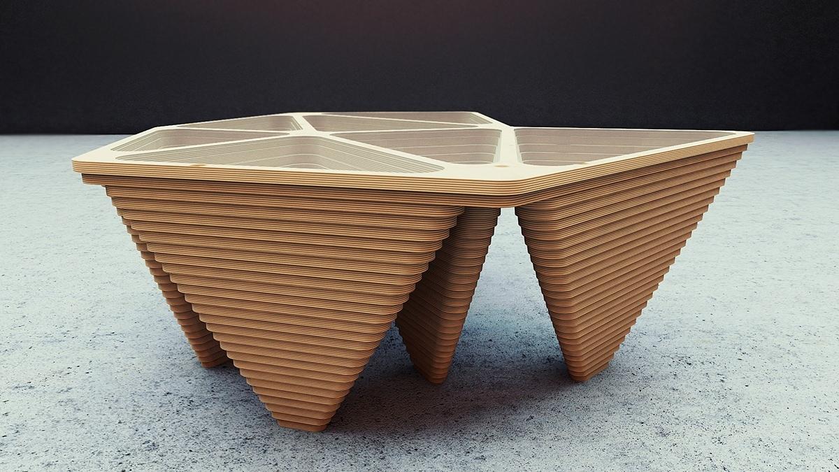 DELUNAY TABLE.