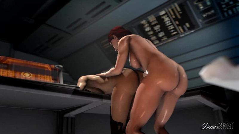 Miranda In Charge [2018 г., 3D, Futa/Shemale, Shemale on Female, Creampie, Big Tits, 1080p]