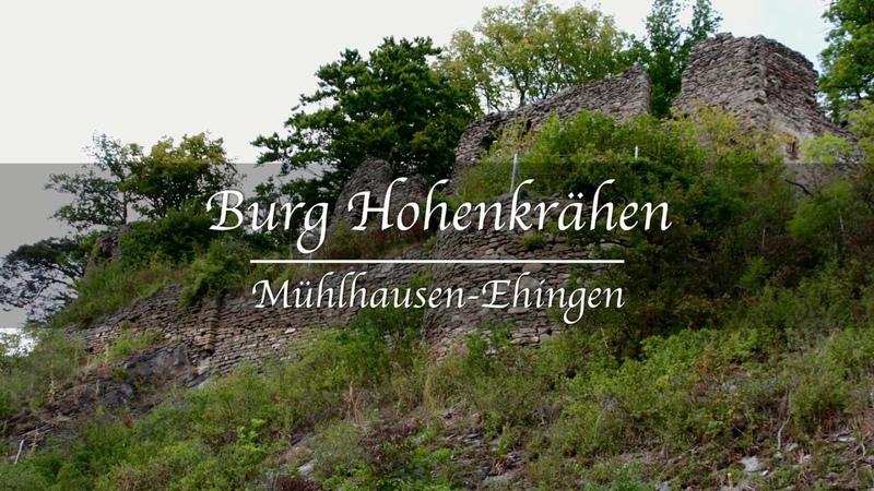 Burgruinen Deutschland - Burg Hohenkrähen - Hegau - Baden-Württemberg
