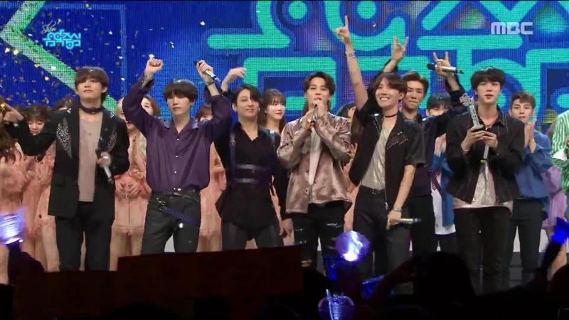 180526 BTS - 1st Place @ Music Core