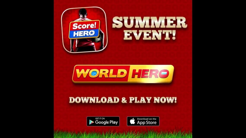 Need some ScoreHero action to compliment the football in Russia Download the World Hero update and grab glory for your nation! -