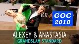 Алексей Глухов &amp Анастасия Глазунова Медленный фокстрот GOC2018 GrandSlam STANDARD - 3тур