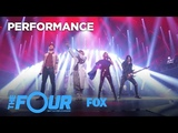 The Four Perform