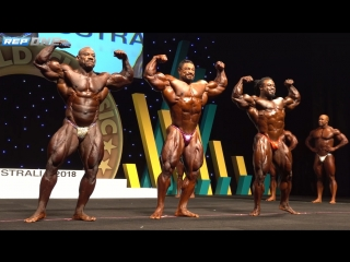 Arnold Classic Australia 2018 - Roelly Winklaar vs William Bonac vs Dexter Jackson