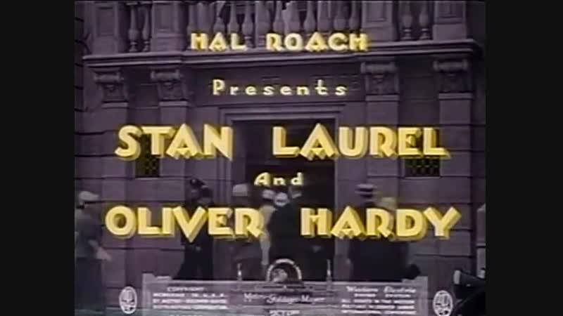 La Venganza Es Dulce (1934) - El gordo y el flaco.