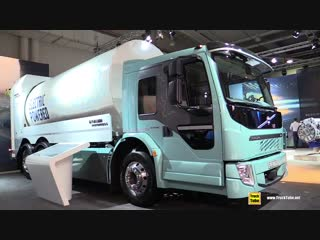 2019 Volvo FE Electric Garbage Truck - Exterior and Interior Walkaround - 2019 IAA Hannover