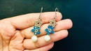 Mother's Day Gift Idea DIY to make Beaded Earrings