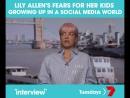 Австралийское шоу Interview: О страхе за мир, в котором растут её дочери, и влиянии слов в соцсетях