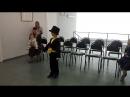 Арсений-светличок на конкурсе чтецов