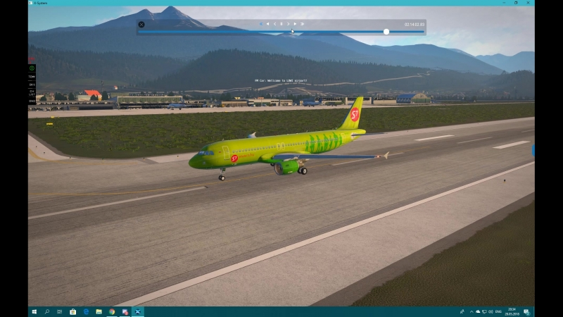 A320 LOWI 08 Landing