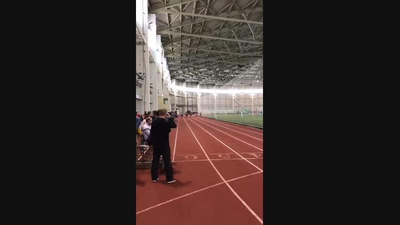 Зимнее первенство ПГАФКСиТ. Финал 60м.
