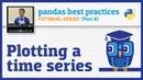 Pandas best practices 8 10 Plotting a time series