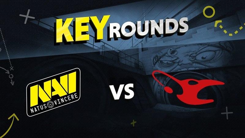 Key rounds: NAVI vs mousesports on Overpass @ StarSeries S4