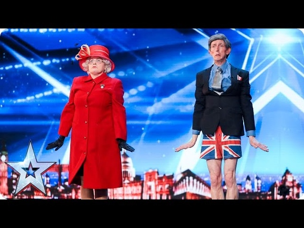 Rare Species put on a right Royal display | Auditions Week 3 | Britain's Got Talent 2017