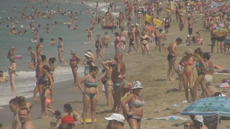 Турция Аланья Пляж Клеопатры - 19 Turkey Alanya Cleopatra beach Kleopatra Plajı هوليداي بيتش